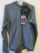 Mens New Arcteryx Konseal Hoody Jacket 3/4 Zip Size Medium Color Pilot II
