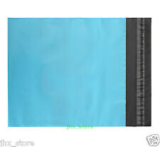 """55 Poly Envelopes Satchels Mailers Blue Mailing Bags 10"""" x 12""""_250 x 300+50mm"""