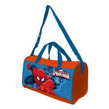 Marvel SPIDERMAN Sport Tasche Sporttasche Kinder Reisetasche Trainingstasche rot