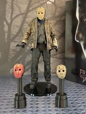 Set Of 2 Custom 3D Printed Stands For Neca Ultimate Freddy Vs Jason Hockey Mask