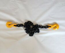 5/8 x 10FT G80 CHAIN BINDER TIE DOWN SLING RATCHET TOW AXLE SHACKLE CRANE LIFT