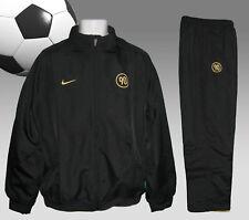 Nuevo Nike para hombre T90 TOTAL 90 Fútbol Chándal Negro y dorado pequeño