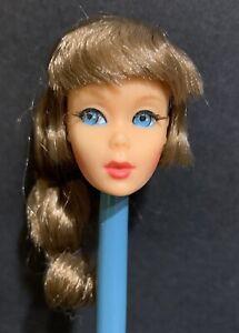 1115 Talking Barbie Doll Head only Mexico Mattel