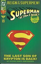 Superman Action Comics Issue 687 Die Cut Special Modern Age First Print DC 1993