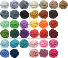 """Chunky Chenille Yarn 3/4"""" (19mm) - Going Fast - Supply Limited - Buy Now!"""