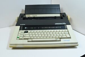 Brother 310 Electric Typewriter With Cover