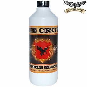 Crow Tattoo Ink - Triple Black 16 oz