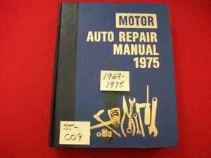 VINTAGE 1969-75 MOTOR'S MANUAL RESTORATION REPAIR GREMLIN CAMARO DEMON 4-4-2 +++