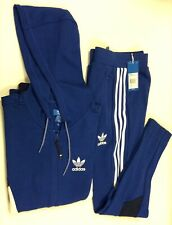Adidas Mens Full Tracksuit set Jogging Tops Bottoms, Small