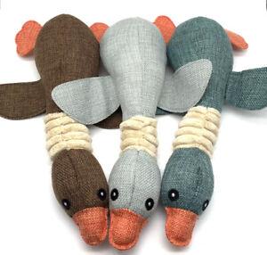 Puppy Squeaky Dog Toy Chew Duck Squeaker Sound Stuffed Toy