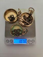 Gold Filled Pocket Watch Case Scrap Lot 107.8 grams