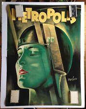 Metropolis Poster Fritz Lang cool deco art by Kurt Degen 2 feet x 3 feet