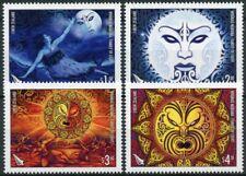 More details for new zealand nz 2021 mnh cultures stamps whanua marama family of light 4v set