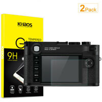 2-Pack Khaos For Leica M10 Tempered Glass Screen Protector