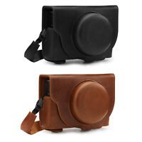 MegaGear Ever Ready Genuine Leather Camera Case compatible with Sony RX100 VII
