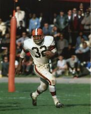 AWESOME JIM BROWN CLEVELAND BROWNS LEGEND IN ACTION 8 x10