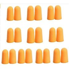 20 Blaze Bright Orange Safety Cap Gun Barrel Foam Tip Lot Plug Lot For Vtg Toy