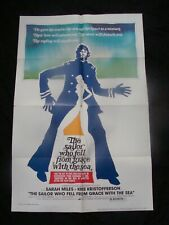 The SAILOR WHO FELL FROM GRACE WITH THE SEA movie poster KRIS KRISTOFFERSON Orig
