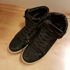 Kennel Schmenger hecho con Swarovski Elements High Top Sneakers Size 5.5