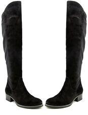 NIB $539 Paul Green Austria Austin Black Combo Suede Tall Boots Size 3.5 - 6(US)