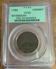 Медная монета Вермонта