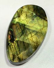 134 ct Natural Multi Fire Labradorite Polished Rock Rough Slab Gemstone A8