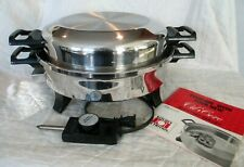 Regal Ware Kitchen Nutrition Oil Core Electric Skillet K7271 Made In Usa & Book