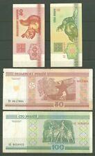 New listing Banknote B44 Belarus 50 Kopeks, 3 Rubles 1992 ; 50,100 Rubles 2000