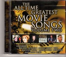 (GA943) The All Time Greatest Movie Songs, Vol. 2,  2CD  - 1999 CD