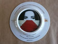 MICHAEL JACKSON 50th Festival de Cannes En Porcelaine Plaque