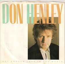 """Don Henley - Not Enough Love in the World - 7"""" single"""