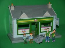 Fireman Sam Bundle_Dily's Shop - Supermarket_Dilys and Norman Figures x4_VGC_02