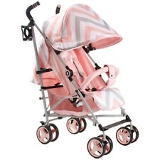 My Babiie MB02 From Birth Baby Stroller / Buggy - Pink Chevron