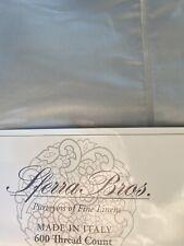 Sferra Bros 600 Thread Count Sateen Cotton Queen Sheet Set