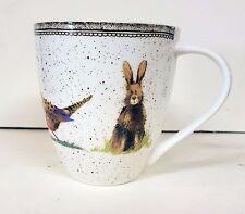 Alex Clark Crush Mug - 500ml - Wildlife - Fine China - Fox Pheasant Owl Rabbit