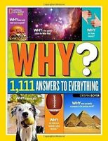 Nat Geo Answers For Kids Book Why? 1111 Ask Answer Everything Xmas Gift Present
