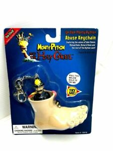 """Monty Python """"Abuse Keychain"""" By Toy Vault NEW, FREE SHIPPING!"""