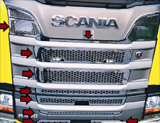 For Scania R series Chrome Front Grill 10 pieces Stainless STEEL 2017+