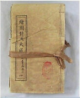 Collectibles Old Chinese Acupuncture Medical Books Drawing Acupuncture