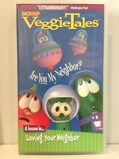 VeggieTales ~ ARE YOU  MY NEIGHBOR? ~ VHS VIDEO