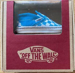 vans off the wall slip-on v grip *Größe 17* NEU & OVP blau