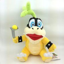 "Iggy Koopa Super Mario Bros Plush Toy Hop Koopalings Bowser Stuffed Animal 6"""