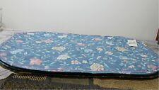 "Cloth Placemats NEW set of 4 Reversable pattern ""FLORAL JEWEL"" Pastel colors"