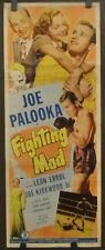 Joe Palooka IN Fighting Mad 1948 Original 14X36 Film Poster Joe Kirkwood Jr