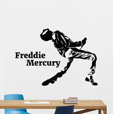Freddie Mercury Wall Decal Queen Music Rock Vinyl Sticker Art Decor Mural 23sss