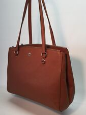 COACH STANTON CARRYALL IN CROSSGRAIN LEATHER BAG HANDBAG