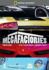 National Geographic Megafactories - Super Cars DVD Region 4