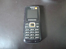 Samsung GT E1130 - Black (Orange Locked) Mobile Phone
