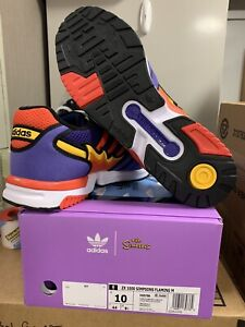 Adidas ZX 1000 x Simpsons x Flaming Moe x Size 10 x Brand New x Ready to Ship
