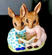 "Royal Doulton Bunnykins ""Storytime� Figurine Db 9 1974"